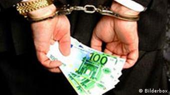 Wirtschaftskriminalität Symbolbild Korruption