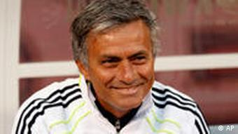 Real Madrid coach Jose Mourinho