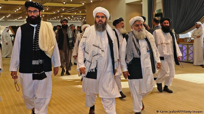 Predstavnici talibana u Dohi u veljači 2020.