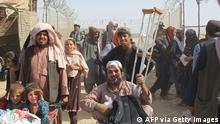 Pakistan   Afghanische Flüchtlinge erreichen Pakistan