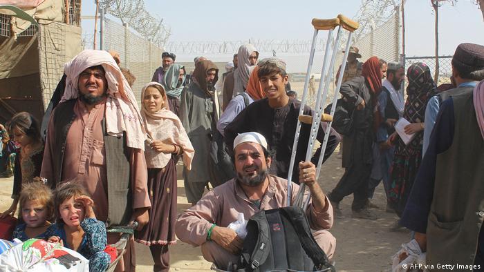 Pakistan | Afghanische Flüchtlinge erreichen Pakistan