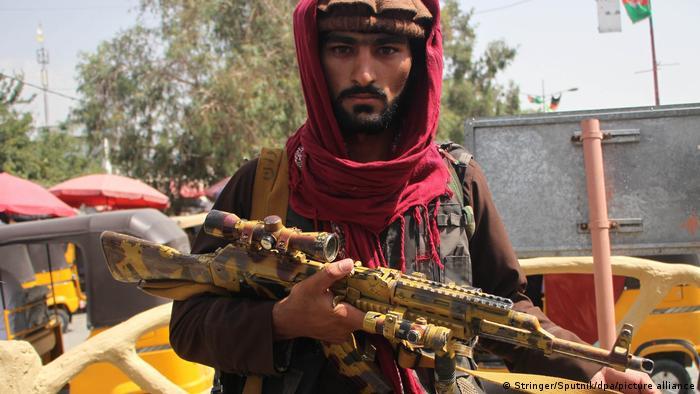 Afghanistan | Taliban Kämpfer in Mehtarlam