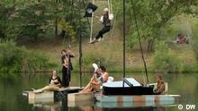 """le pianO du lac, Wassermusik, Konzert, Frankreich, schwimmendes Klavier"