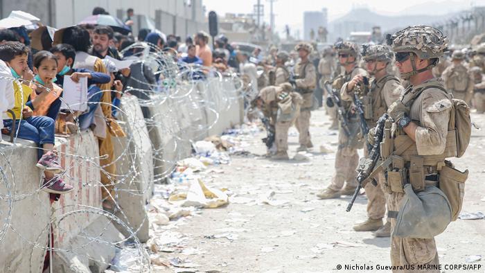 Американські військові в аеропорту Кабула