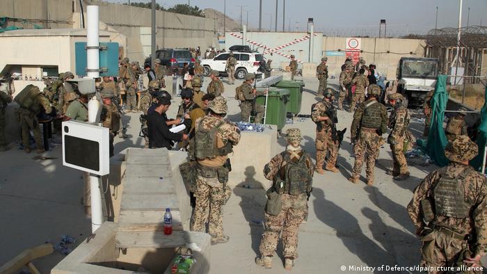 Afghanistan Kabul Airport | Evakuierungen