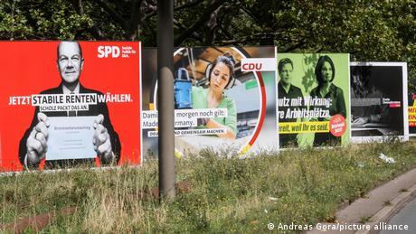 Deutschland Wahlkampf Berlin City