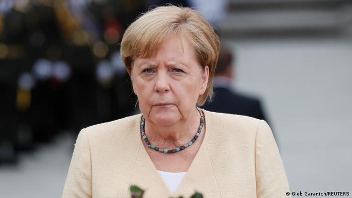 Анґела Меркель під час візиту до Києва, 22 серпня 2021 року