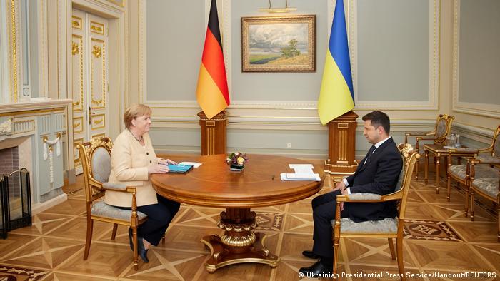 Переговори Анґели Меркель та Володимира Зеленського