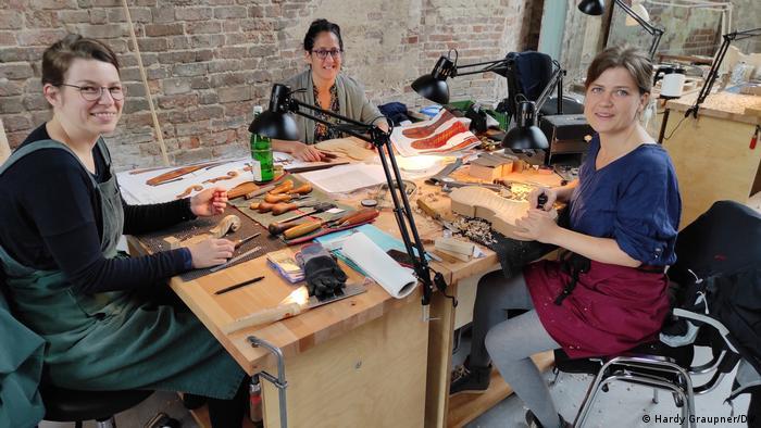 Violin-making workshop in Brandenburg an der Havel