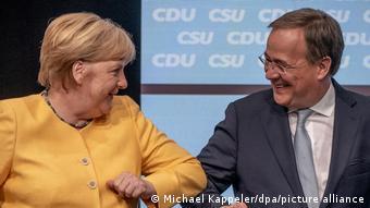 Deutschland   Zentraler Wahlkampfauftakt von CDU und CSU