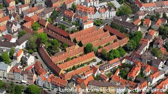 Deutschland   Fuggerei in Augsburg