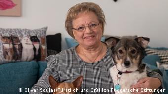 Ilona Barber   Bewohnerin der Fuggerei in Augsburg