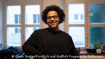 Guobadia Noel - Bewohner der Fuggerei in Augsburg