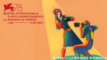 Plakat des 78. Filmfestival in Venedig