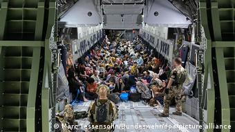 Les évacuations allemandes ont permis l'évacuation de 5347 personnes, dont 4000 de nationalé afghane.