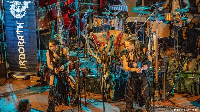 На концерте белорусской фолк-группы Irdorath (фото из архива)