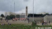 23.8.2021, Addis Abeba, Äthiopien, Aussenaufnahmen von der Stadtverwaltung in Addis Abeba