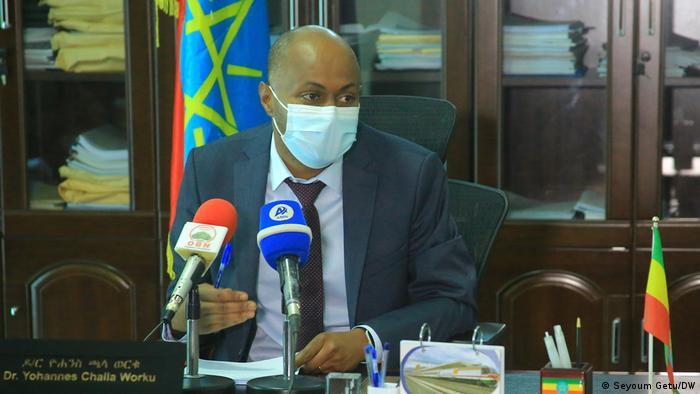 Äthiopien Dr. Yohannes Chala Leiter des Gesundheitssektors der Stadt Addis Abeba