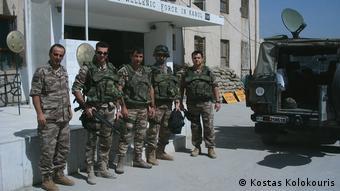 Έλληνες στρατιώτες της ΕΛΔΑΦ, το 2008