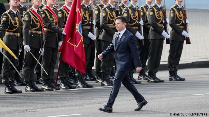 Ukraine - Militärparade in Kiev