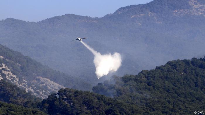 OGM'nin envanterinde yangın sönderme uçağı olmaması eleştirilere neden olmuştu