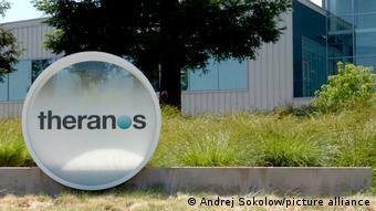 Главный офис компании Theranos в Пало-Альто в Калифорнии