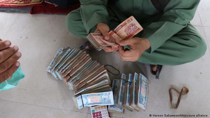 La monnaie a perdu de sa valeur dès le départ des troupes internationales d'Afghanistan