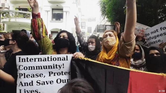 Des Afghanes réclament le statut de réfugiées en Inde (24.08.21)