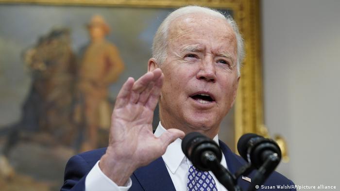 USA I Joe Biden über die Situation in Afghanistan