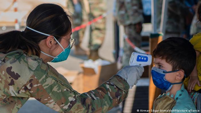 Deutschland I Ramstein I USA Evakuierung von Zivilisten aus Kabul