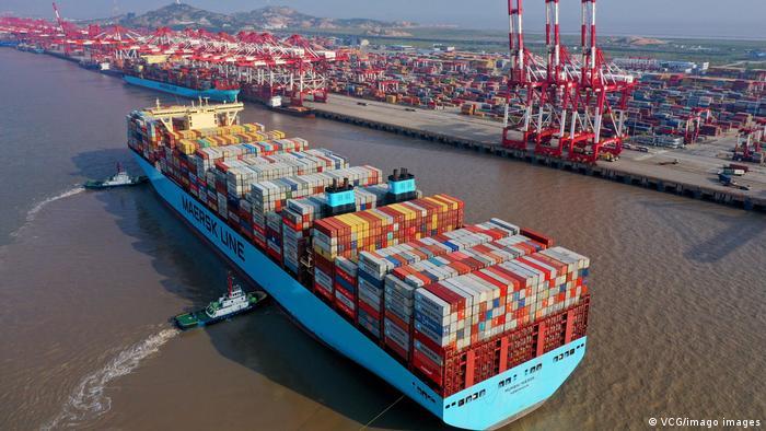 China Shanghai | Containerhafen Yangshan