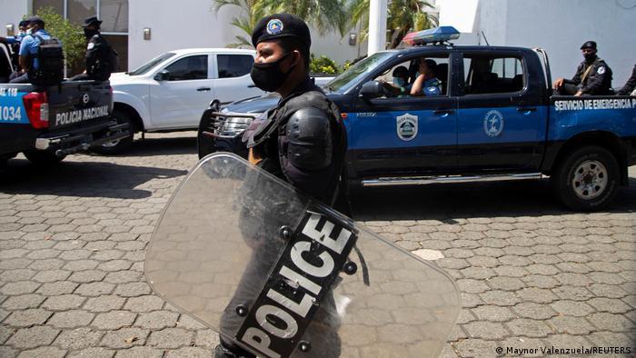 Nicaragua Managua | Polizeidurchsuchung bei La Prensa Zeitung