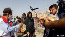 Iran schick afghanische Flüchtlinge nach 24 Stunden an der Grenze wieder zurück nach Afghanistan. Stichwörter: IRAN, Afghanistan, Fluchtlinge ***ACHTUNG: Nur für geklärte Verwendung nutzen!***