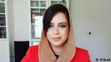 DW urdu Blogerin Sana Zafar