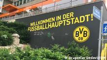21. August 2021 Wandbild am Platz der deutschen Einheit Dortmund