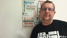 Gregor Mlakar, Slovenian Press Agency STA journalist (Source: Gregor Mlakar)