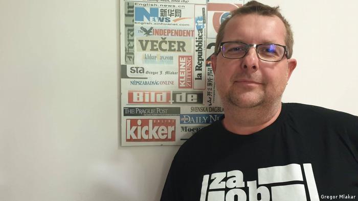 Gregor Mlakar, novinar čiji je tekst iz nekog razloga naljutio Janšu