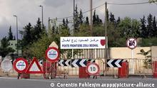 © CORENTIN FOHLEN/WOSTOK PRESS; OUJDA, MAROC OCTOBRE 2005 FRONTIERE FERMEE ENTRE LE MAROC ET L'ALGERIE
