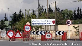 Les frontières sont fermées entre l'Algérie et le Maroc depuis 1994 (Archives - Oujda, 2005)