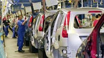 Autofabrik Ford (Quelle: AP)