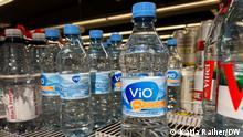 Vio, Coca-Cola, Wasserflaschen.