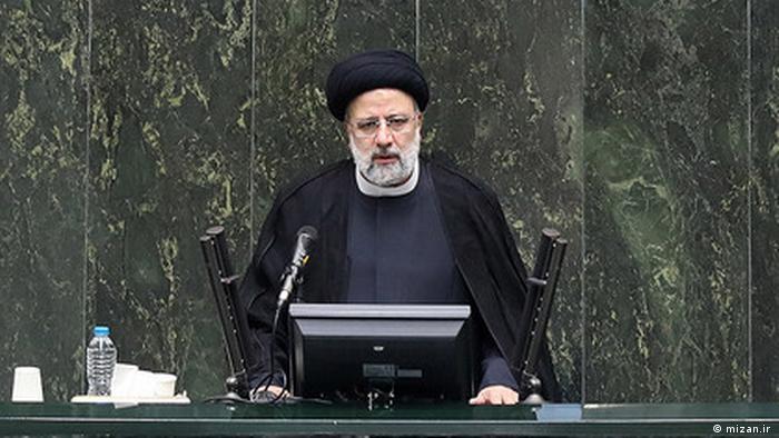Iran Raisi im Parlament