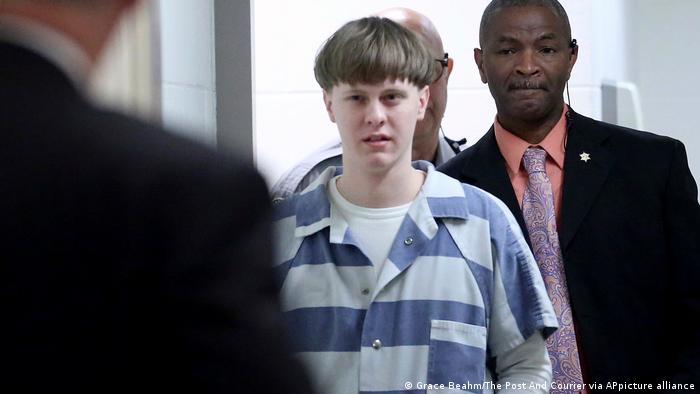 USA   Dylann Roof   Todesurteil für Charleston-Attentäter bestätigt