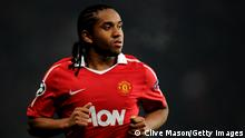 MANCHESTER, ENGLAND - DECEMBER 07: Anderson of Manchester United looks on during the UEFA Champions League Group C match between Manchester United and Valencia at Old Trafford on December 7, 2010 in Manchester, England. (Photo by Clive Mason/Getty Images)