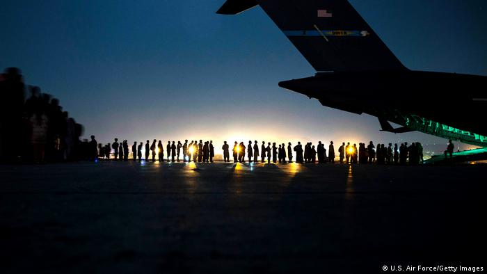 In Pictures: The Kabul evacuation mission