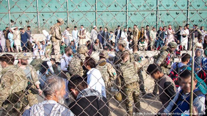 Afganistan Bundeswehr aeroportul Kabul