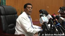 Sprecher Außenministeriums von Äthiopien Dina Mufti , Äthiopien, Addis Ababa 26.08.2021
