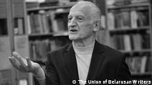 Prominenter belarussischer Dichter Ales Rasanau ist im Alter von 73 Jahren gestorben Copyright: