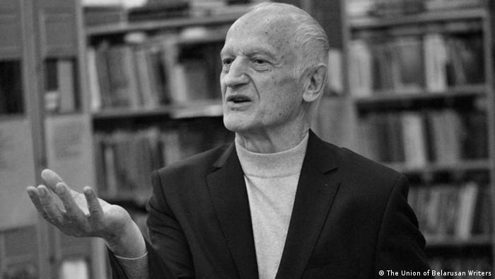 Белорусский поэт Алесь Рязанов