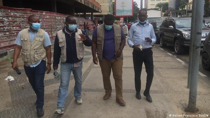 Angola, Luanda   Gerichtsprozess gegen Journalisten